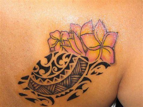 tribal hawaiian flower tattoo 25 superb hawaiian tribal tattoos creativefan