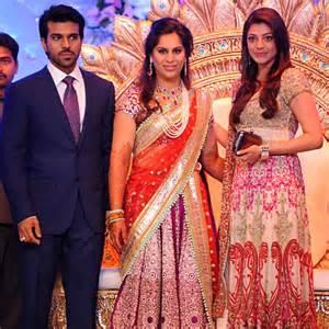 Pix Ram Charan Teja S Grand Wedding Reception Rediff