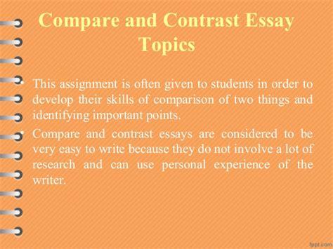 composition patterns comparison and contrast