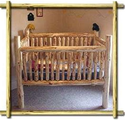 Log Cabin Crib by 1000 Images About Log Cribs On Log Crib Baby