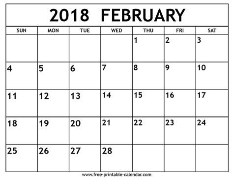printable calendar template free free printable calendar printable 2018 calendar free