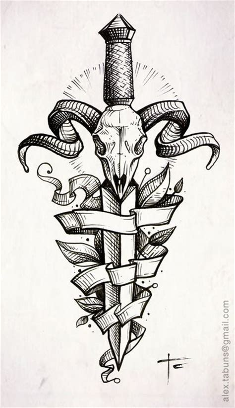 53 best dagger tattoos design and ideas