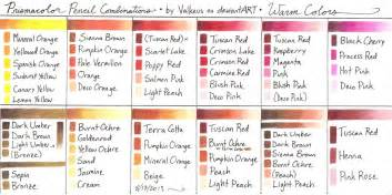 prismacolor colored pencil chart prismacolor pencil journal prismacolor