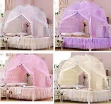 Bed Tent Canopy Australia Canopies And Netting For Beds In Size Ebay