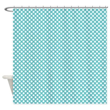 blue and white polka dot curtains blue and white polka dots shower curtain by colorfulpatterns