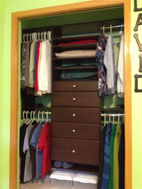 Easy Track Closet Organizers by Easy Track Customizable Closet System Closet Rev