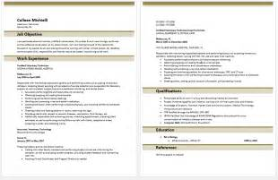 veterinary resume templates resume exles templates veterinary technician resume