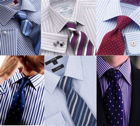 pattern shirt with striped tie guide for men s shirt tie combination gaylaxy magazine