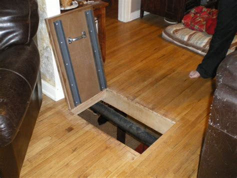trap door to the basement by bobdurnell lumberjocks