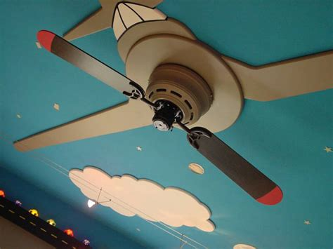 airplane ceiling fan light desain with brown propeller airplane ceiling fan filename air racer 2bladed high