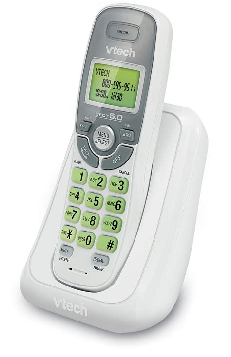 cordless home phone vtech handset dect 6 0 telephone w o