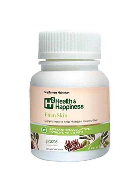 Suplemen H2 Health And Happiness H2 Health Happiness Firm Skin 30 S Box Klikindomaret
