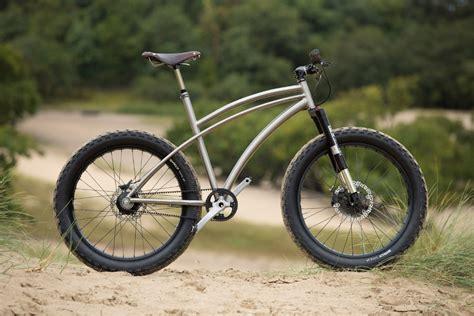 Handmade Titanium Bikes - spanner bikes ti22 s custom titanium newsboy bike