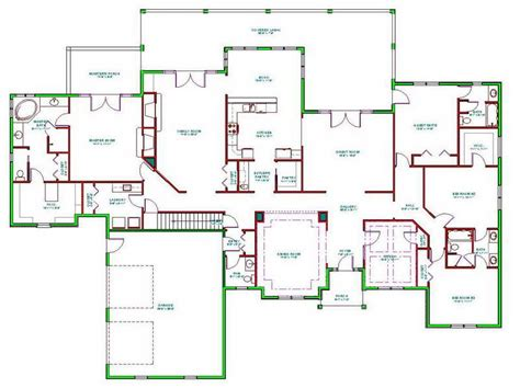 homes with floor plans ideas floor plans for ranch homes home designs