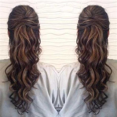wavy prom hairstyles for long hair best 25 formal prom hairstyles down hairstyles
