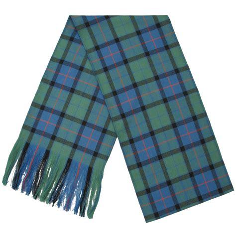 scotch plaid scottish highland 100 wool tartan plaid sash made in