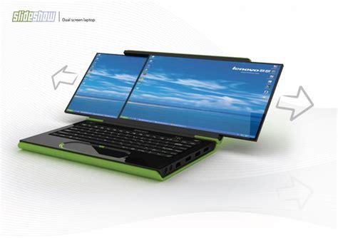 Laptop Lenovo Dual dual screen laptops unique idea left in the history