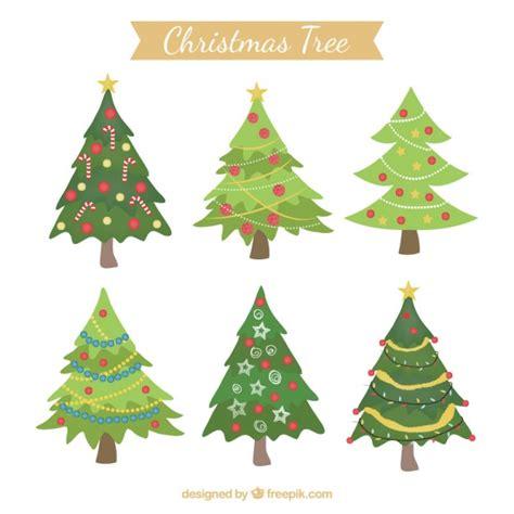 225 rboles de navidad decorados descargar vectores gratis