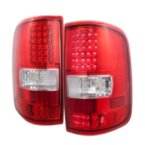2006 f150 tail lights ford f150 2004 2008 smoked clear headlights and led tail