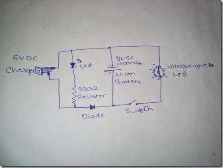 membuat lu led luxeon membuat lu emergency led luxeon rechargable cara tekno