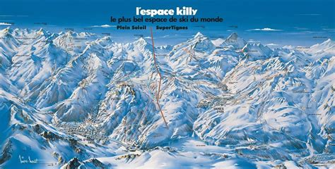 Pers Sweepstakes - trail map tignes panorama