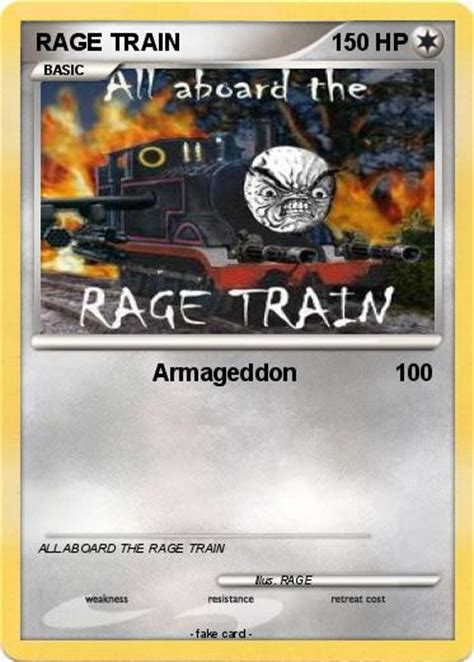 wallpaper engine trading cards rage train card by xmsb on deviantart