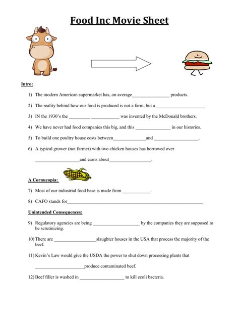 Tapped Worksheet Answers