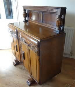 antiques atlas oak carved sideboard