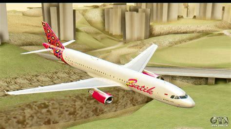 Daster Batik Rc airbus a320 batik air pour gta san andreas