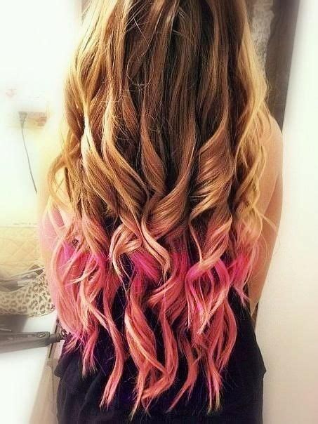 how long does ombre hair color last pink ombre hairstyle dyed hair pinterest