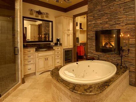 15 exles of opulence and elegance bathrooms with fireplace