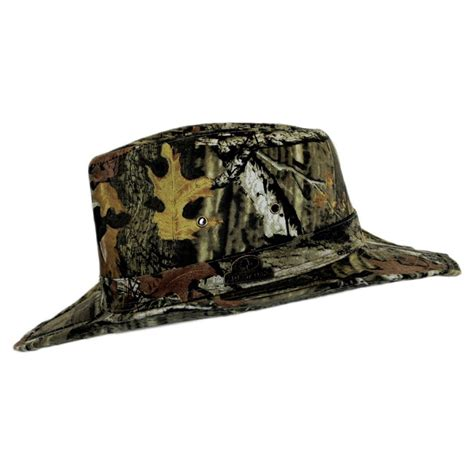 camo hat mossy oak infinity up camo cotton outback hat sun
