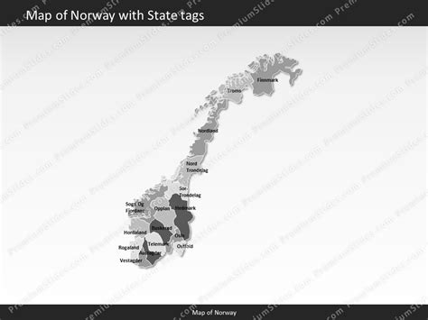 powerpoint themes norway norway map editable map of norway for powerpoint