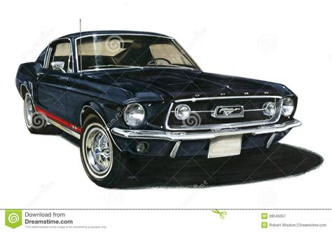 va mustang 1967 de mustang gt fastback ford redactionele
