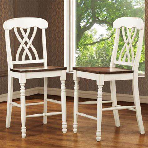 cottage style bar stools white bar stools bellacor