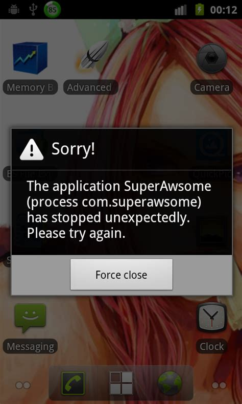 why crashes on android java android application using libgdx crashes since
