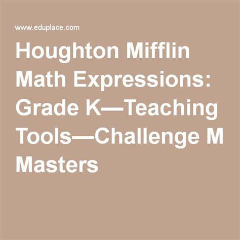 houghton mifflin math expressions grade 4 worksheets