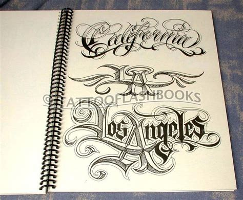 tattoo lettering font books boog name game tattoo script lettering gangster book ebay