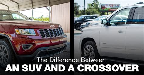 Difference Between Suv And Crossover by Franchised Dealer Used Cars