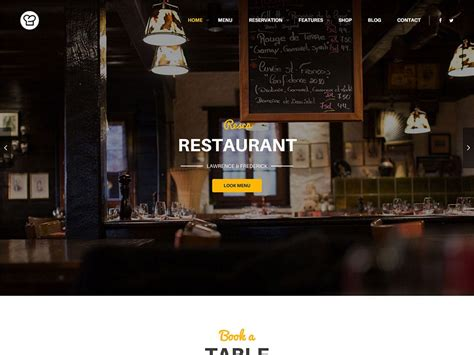 themes wordpress free restaurant 40 best wordpress restaurant themes 2018 athemes