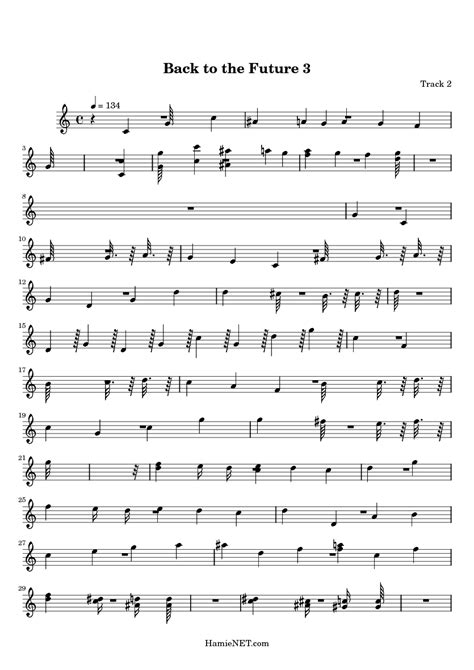 theme music back to the future back to the future 3 sheet music back to the future 3