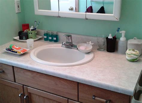 Exceptional Cheap Bathroom Countertops #1: Bathroom-counter-after.jpg