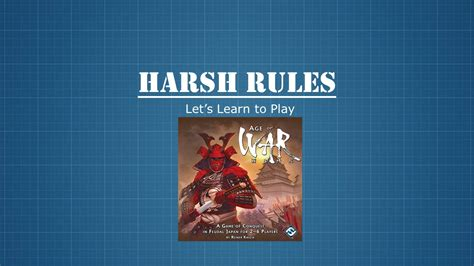 how to play war harsh rules let s learn how to play age of war youtube