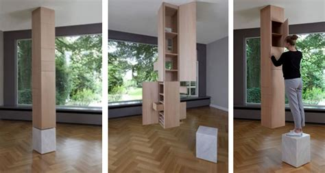 pillar designs for home interiors these clever hidden storage ideas is the one you re