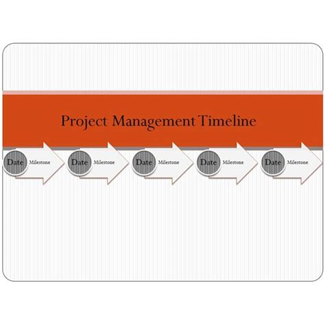 Sle Project Management Timeline Templates For Microsoft Office Timeline Smartart Template