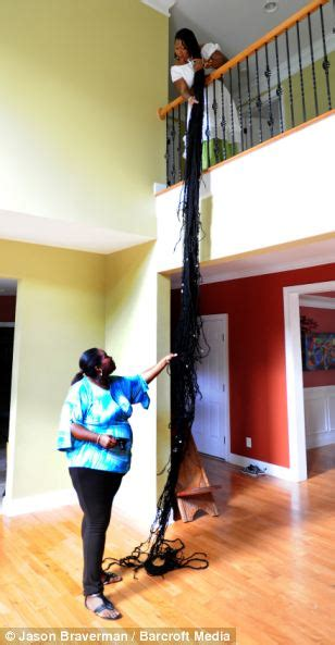 guiness record holder for longest hair the real life rapunzel world record holder says her 55ft
