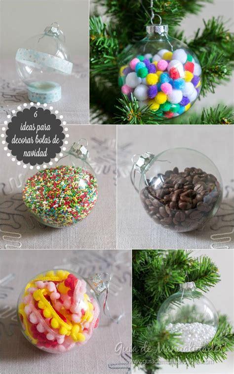 decoracion navidad manualidades 6 ideas para decorar bolas de navidad manualidades