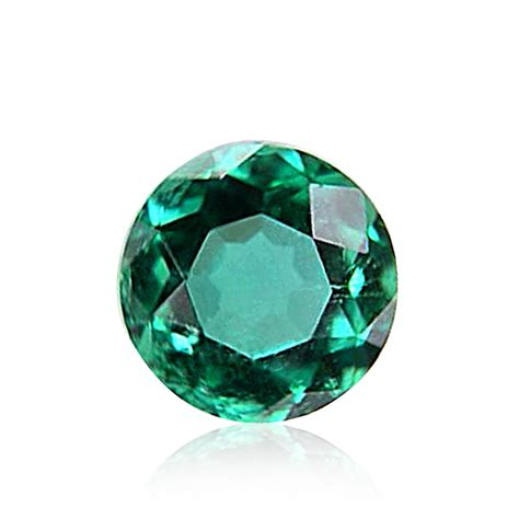with gemstones 0 38cts green emerald gemstone cut ebay