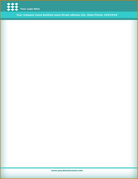 printable templates free download free printable letterhead templates image collections