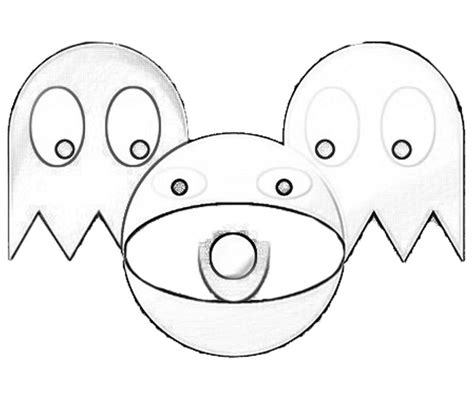 free coloring pages of pacman ghostly adventures